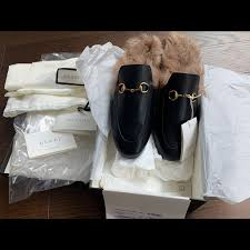 gucci shoes princetown leather