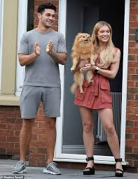 Love Island's Molly Smith and Callum Jones join weekly Clap For Carers  salute | Daily Mail Online