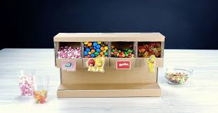 craft your own diy candy dispenser from
