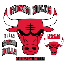 Chicago Bulls Logo Giant Officially Licensed Nba Removable Wall Decal By Fathead