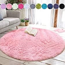 junovo round fluffy soft area rugs