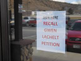 Durango woman cited for destroying sign that asked for signatures in  Lachelt recall effort