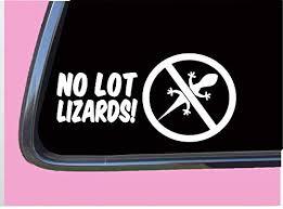 Amazon Com No Lot Lizards Tp 564 Vinyl 8 Decal Sticker Truck Driver Diesel Fwd Trucker Handmade
