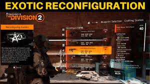 the division 2 how to reconfigure
