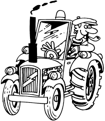 Signspecialist Com Beevault Decals Pipe Smoking Farmer On Tractor Vinyl Decal Customize On Line Agriculture Crops Farming Tractor Farmer 003 0133