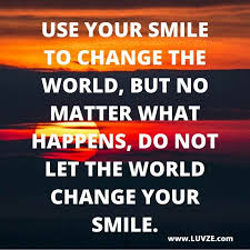 smile quotes to make you happy and smile