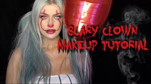 y clown makeup you