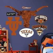 Texas Longhorns Ut Ncaa Fathead Realtree Logo Real Big Wall Decals 44 W X 39 H Ebay