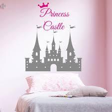 Diy Princess Castle Girls Bedroom Wall Decor Sticker Wall Decal For Kids Nursery Bedroom Vinyl Adhesivo Art Poster Wa 51 Sticker Wall Decal Wall Decalssticker Wall Aliexpress