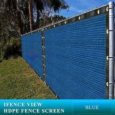 Ifenceview 5 X3 5 X50 Blue Fence Privacy Screen Mesh Net Fabric Garden Outdoor Blue Fence Privacy Screen Outdoor Fence Screening