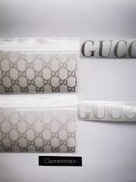 Gucci Logo Reflective Heat Transfer Vinyl Decal Custom Air Force