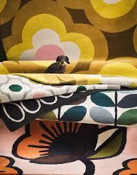 orla kiely rug multi stem kingfisher