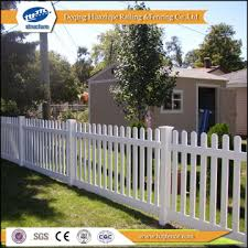 Fc4 China Pvc Plastic Small Garden Fence Manufacturer Supplier Fob Price Is Usd 17 56 23 57 Meter