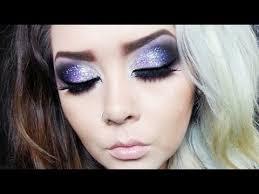 inspired glitter makeup tutorial