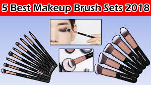 top 5 best makeup brush sets reviews