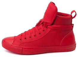 all red converse converse