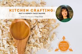 Kitchen Crafting - Oat and Honey Face Mask - The Santa Barbara Independent
