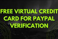 paypal temporary credit card
