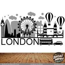 London Wall Decal London City Wall Sticker London Wall Art City Skyline London City Wall Decal London Skyline Wall Decal Inglaterra