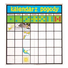 Kalendarz i pogoda - Educol