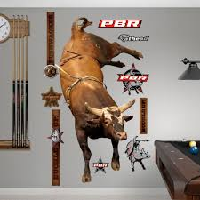 Bushwacker Horse Wall Decals Bull Riding Bucking Bulls