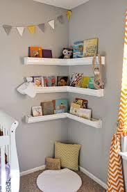 White Wall Shelves For Kids Room Design Nursery Baby Room Baby Nursery Inspiration Boy Toddler Bedroom