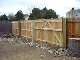 Fence Gates How To Build A Double Fence Gate