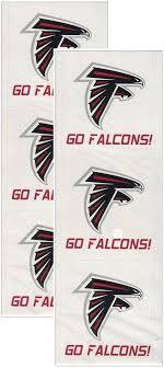 Atlanta Falcons Nfl Logo Stickers 6 Pk Scrapbook Perfect Timing