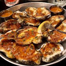 BBQ Oysters at The Grand Marlin ...