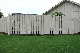 Spaced Classic Contemporary Fence With Caps By Elyria Fence
