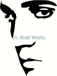 Elvis Wall Sticker Vinyl Decal The Wall Works