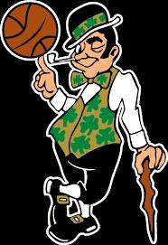 Boston Celtics Mascot Logo Vinyl Decal Sticker 5 Sizes Sportz For Less