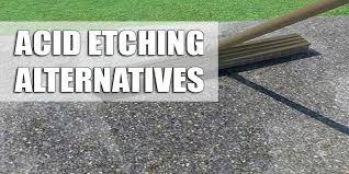 acid etching a concrete floor