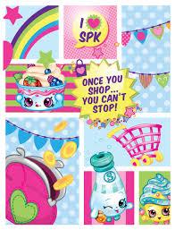Shopkins From Moose Cute Shopkins Shopkins Birthday Party