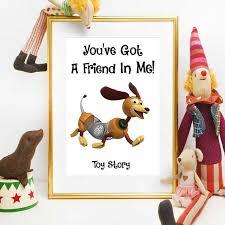 toy story birthday print disney quotes toy story slinky dog