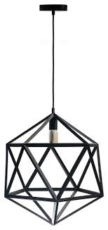 geometric shapes large pendant lamp