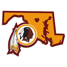 Washington Redskins Decal Home State Pride Sports Fan Shop