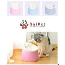 Máy Uống Nước Phun Và Lọc Tự Động Cho Chó Mèo Dill 2 Lít