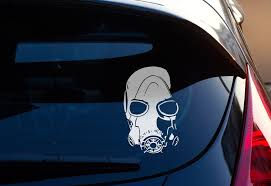 Borderlands Decal Psycho Mask Decal Sticker Borderlands Borderlands Nerdy Gifts Laptop Decal