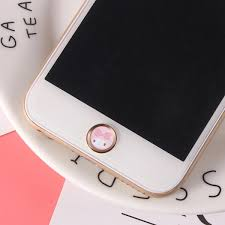Cute Unicorn Touch Id Home Button Sticker For Iphone 6 7 8 Plus 5s 5c Se For Ipad Air 2 Fingerprint Keypad For Iphone Sticker Phone Sticker Back Flim Aliexpress