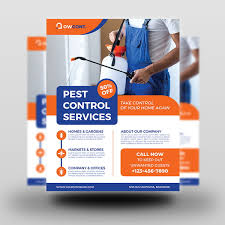 Pest Control Services Flyer Template | Flyer | OWPictures | PoweredTemplate