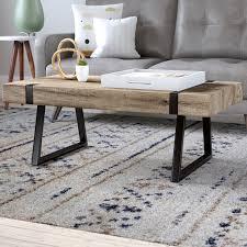 zipcode design winnie sled coffee table