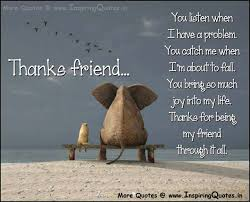 quotes about thanks and friendship quotes