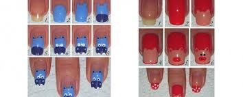 easy zoo nail art tutorialfabulous nail