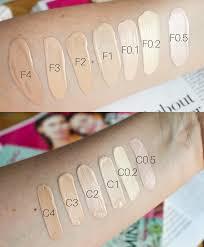 makeup revolution swatches concealer