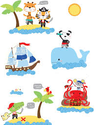 Pirate Nursery Wall Decals Kids Decor Fun Rooms For Kids