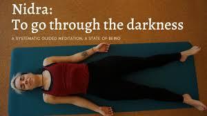 yoga nidra a guided visualization
