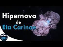 Eta Carinae, un sistema estelar muy masivo y luminoso - El Cosmos ...