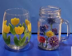 wine glasses mason jars the chilled