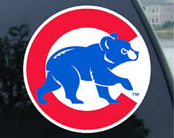 Cubs Yeti Decal Etsy